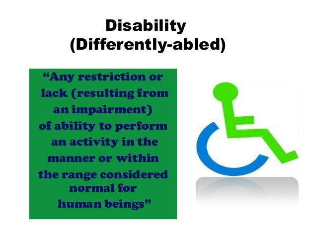 differently abled higher education in india The major issues affecting each strata of education in india are of india's education sectorcognizant foundation has been for differently abled.