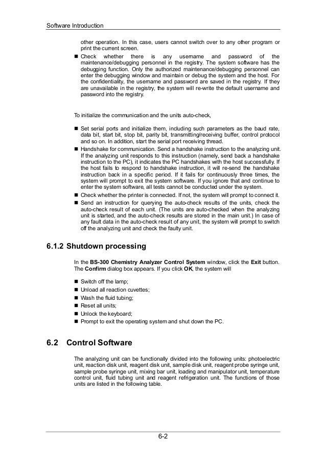 bs 300 service manual v1 0 rh slideshare net Ortho VITROS Chemistry Reagents Organic Chemistry Reagents