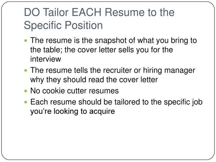 Bs 150 resume dos and donts for Do recruiters read cover letters