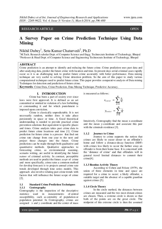 Nikhil Dubey et al Int. Journal of Engineering Research and Applications www.ijera.com ISSN : 2248-9622, Vol. 4, Issue 3( ...