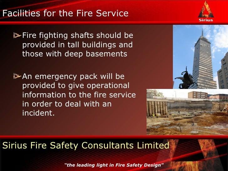 Bs 9999 Fire Engineering