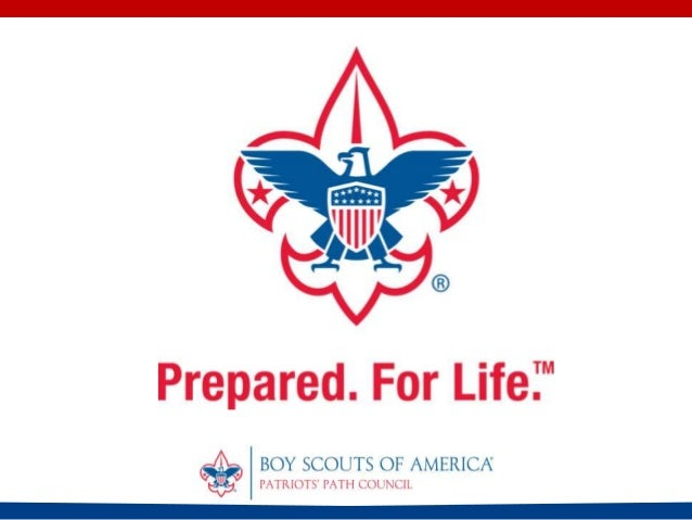 Boy Scouts of America Patriots' Path Council's Grant Proposal Prepared specifically for the Verizon Foundation.  Pg. 1
