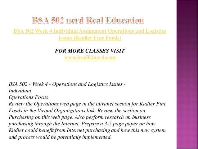 kudler fine foods operations management Category: kudler fine foods case study title: operations management at kudler fine foods.