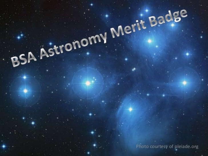 Bsa astronomy merit badge