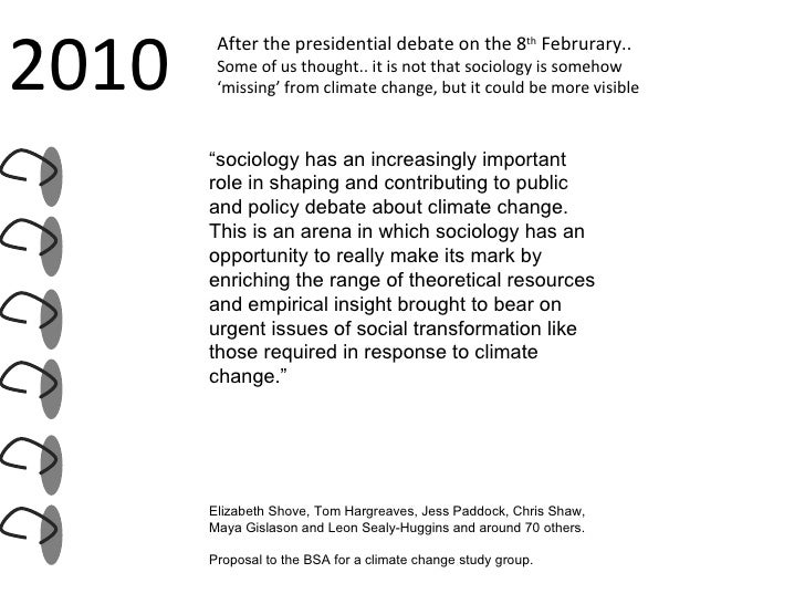 2010 After the presidential debate on the 8 th  Februrary..  Some of us thought.. it is not that sociology is somehow  ' m...