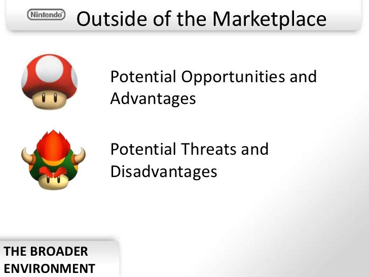 nintendo market analysis Market segmentation: a look at the nintendo wii and ds wii targeting - behavioral  segmental analysis 2 target market chosen 3 product strategy full transcript.
