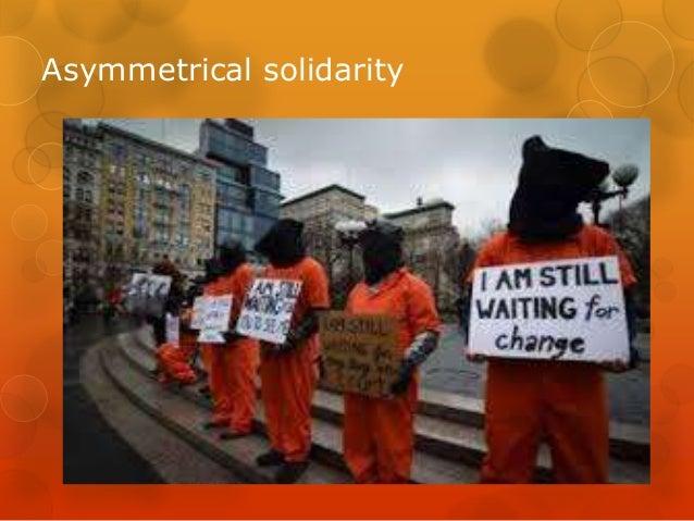 Asymmetrical solidarity