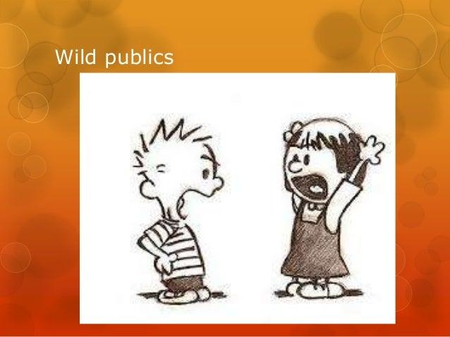 Wild publics