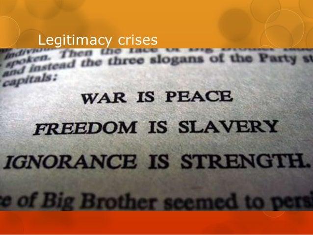 Legitimacy crises