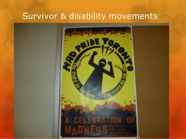 Survivor & disability movements