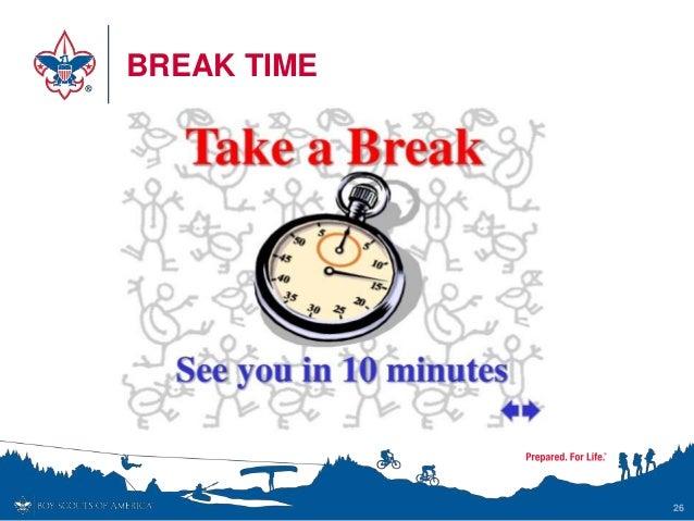 BREAK TIME 26