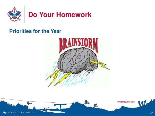 Do Your Homework Priorities for the Year 67