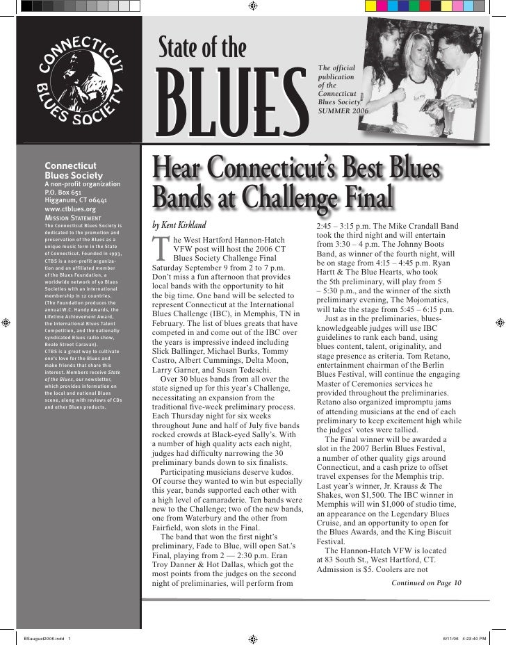 State of the                                             BLUES                                                            ...