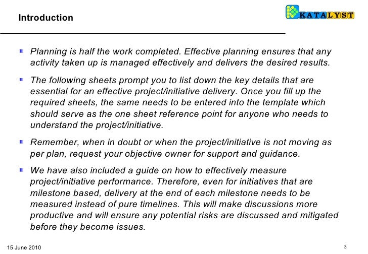 bsc how to fill initiatives templates 14 june10