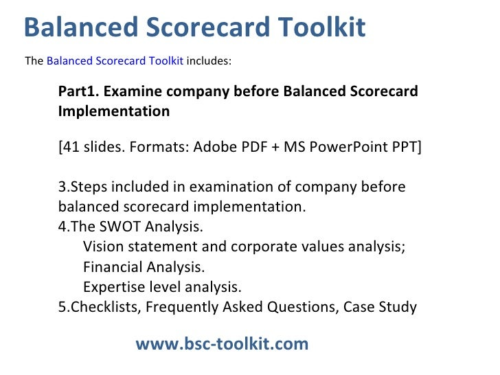 implementation of balanced scorecard porsche case Cultural, and political characteristics of the practice implemented and the   keywords: balanced scorecard, adaptation, diffusion, variation, management.
