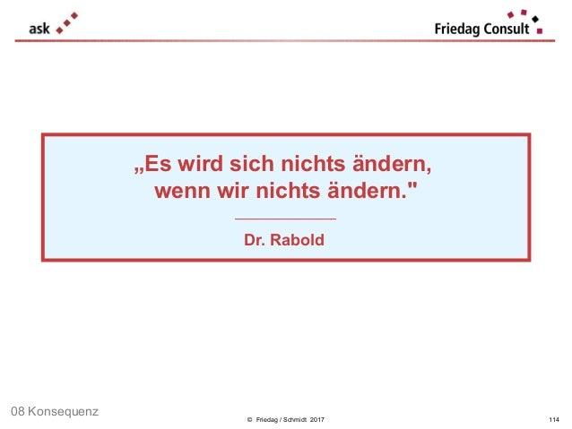 """© Friedag / Schmidt 2017 """"Es wird sich nichts ändern, wenn wir nichts ändern."""" ___________________ Dr. Rabold 114 08 Konse..."""
