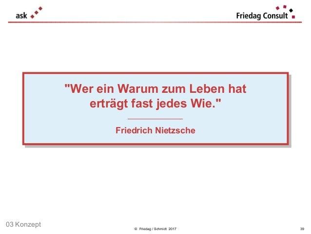 """© Friedag / Schmidt 2017 """"Wer ein Warum zum Leben hat erträgt fast jedes Wie."""" ___________________ Friedrich Nietzsche """"We..."""