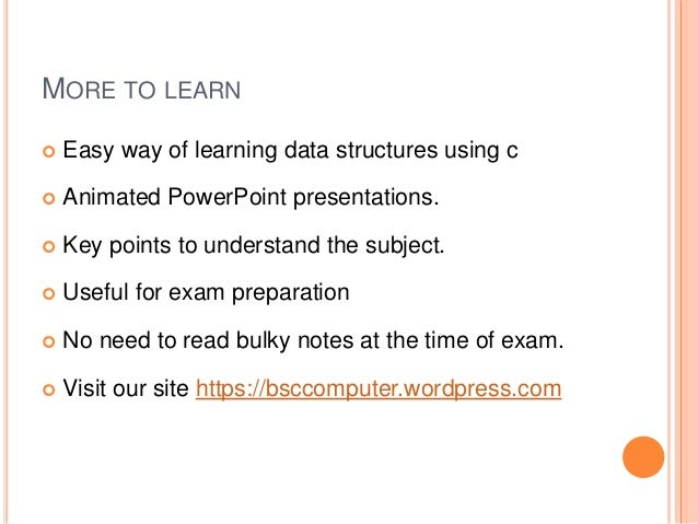 Ppt data structures books powerpoint presentation id:3869444.