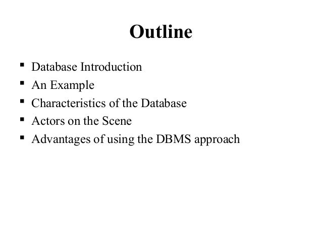 Bsc Cs Ii Dbms U I Database Systems