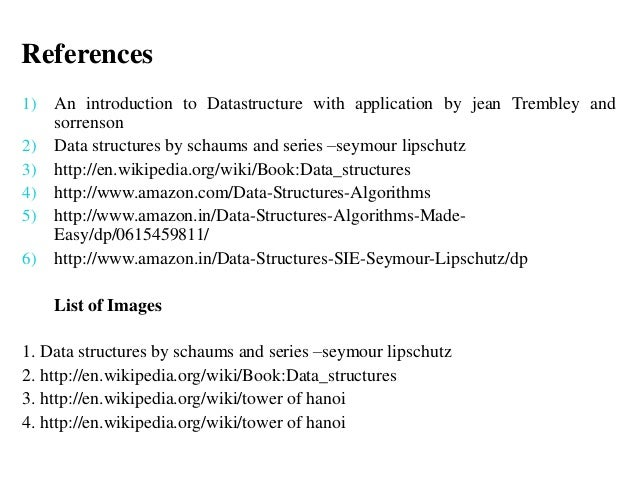 Seymour book lipschutz structure data