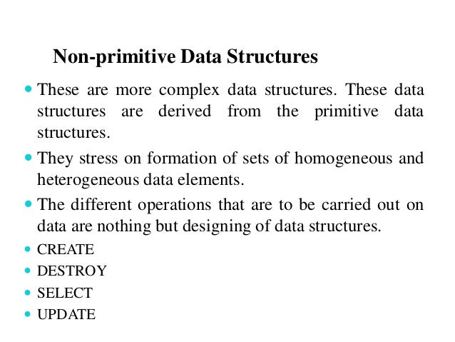introduction to data structure Data structures and alg orith ms 1 introduction 1 with chunks of text describing how the data structure or algorithm in question.