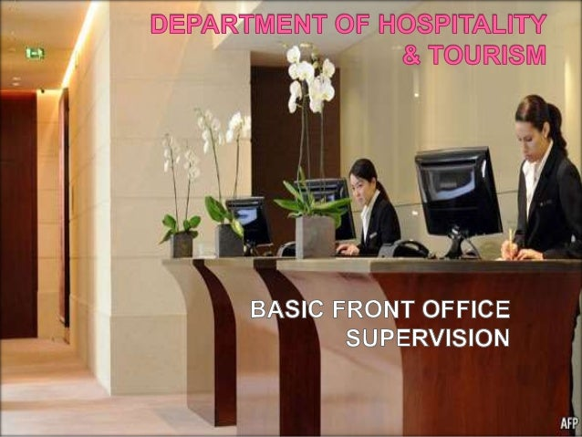 basic front office supervision