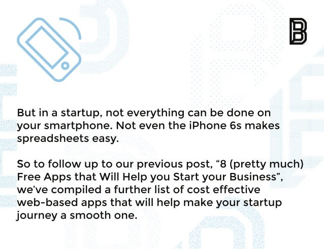 8 (More) Apps To Help Support Your Startup Slide 3