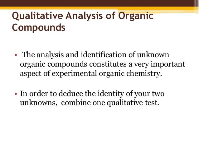 qualitative chemistry coursework Students must complete one credit of math-based quantitative coursework in their   chemistry • physics or by completing math-based quantitative career.