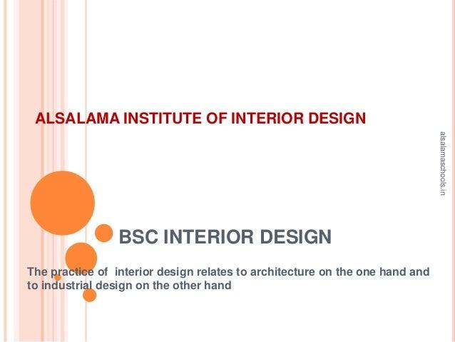 bsc interior design details