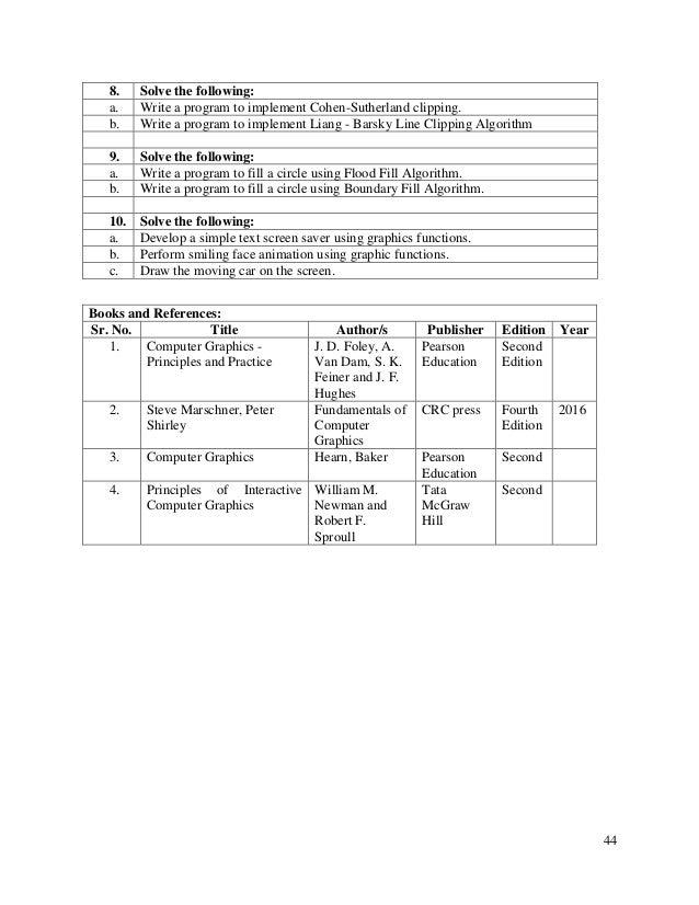 B sc it syit sem 3 sem 4 syllabus as per mumbai university