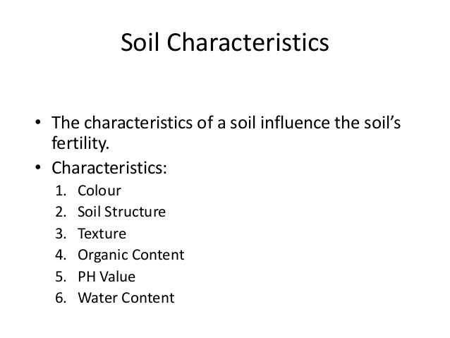 B sc micro biotech biochem i es u 3 2 soil for Soil questions