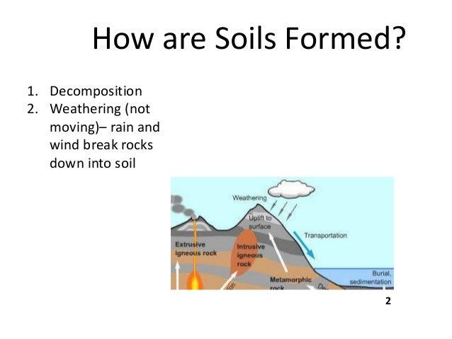 B sc micro biotech biochem i es u 3 2 soil for Explain the formation of soil