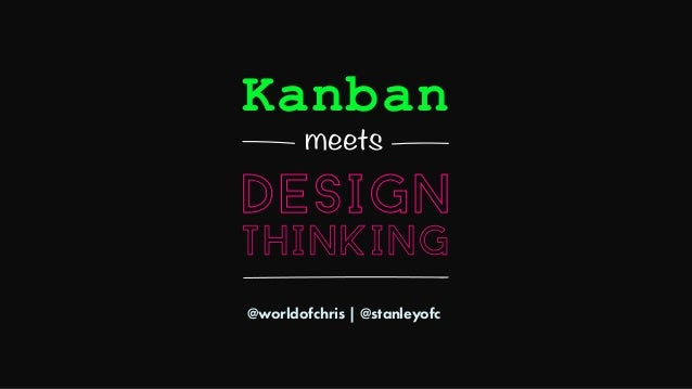 @worldofchris | @stanleyofc Kanban meets