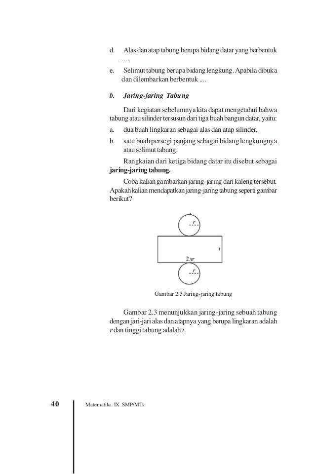 Buku Matematika SMP Kelas IX - Masduki Ichwan Budi Utomo