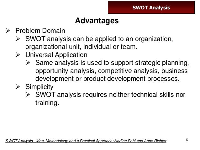 swot analysis idea methodology and a practical approach pdf