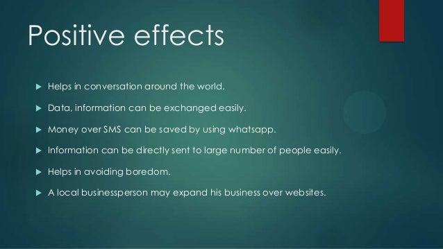 negative effects information communication technology