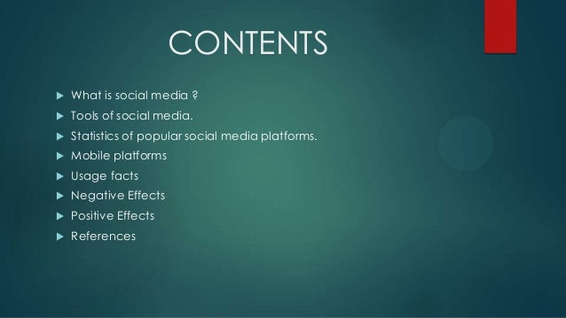 effects of social media essays What is the positive and negative effects of social media on our day to day life essay on positive and negative impacts of social media.
