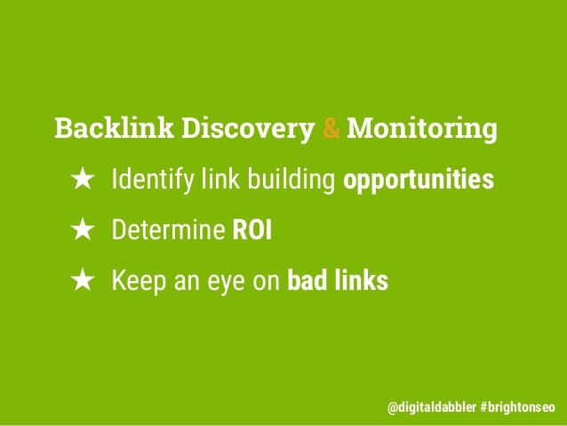 The Power of Backlink Discovery Slide 3