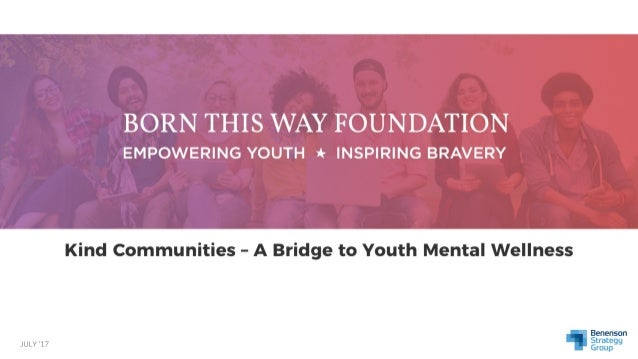 Kind Communities - A Bridge To Youth Mental Wellness