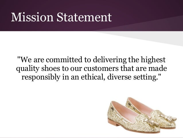 Vans Shoes Company Vision Statement