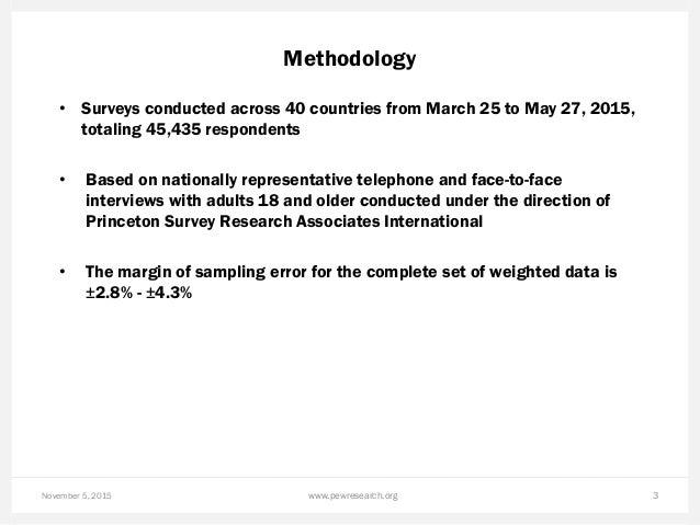 Pew Research Center 2015 Climate Change Presentation Slide 3
