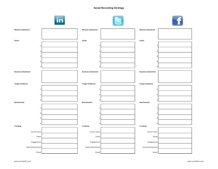 Recruitment Strategy Template. sample recruiting plan template 9 ...