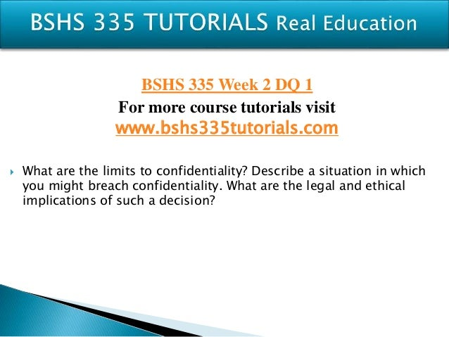bshs 335 case study review Review the codes of ethics and decision-making models comparative charts  and  tags: no plagiarism bshs/335 site references bshs335 ethics and  values for  ethical case study select one of the case illustrations within the  chapters,.