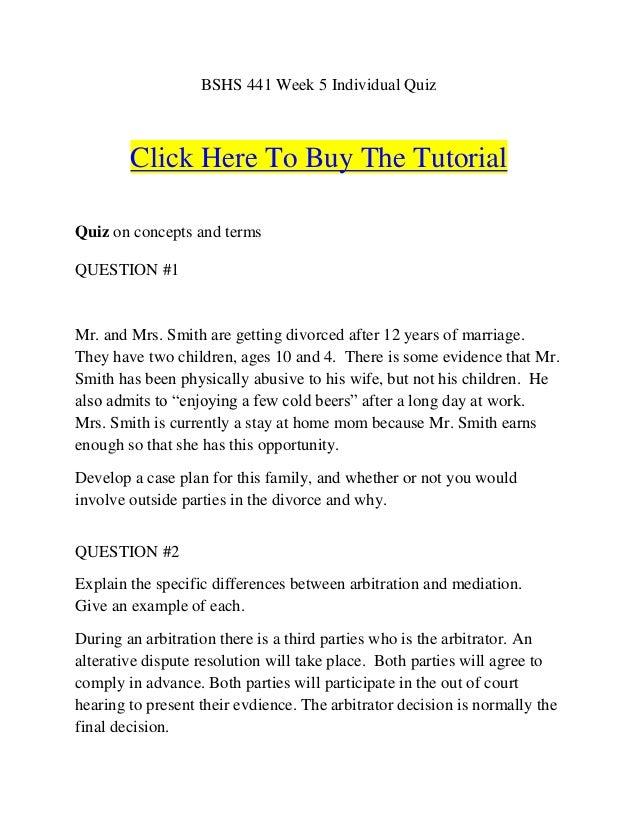 To divorce or not quiz