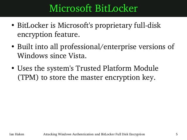 how to stop bitlocker encryption