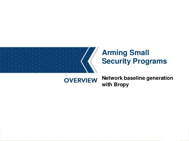 BSides Charm2017 Arming Small Security Programs-Bropy Slide 2