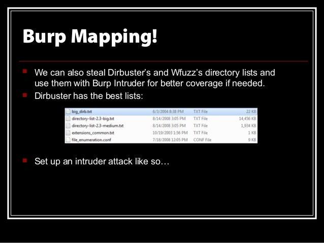 Pentesting Using Burp Suite