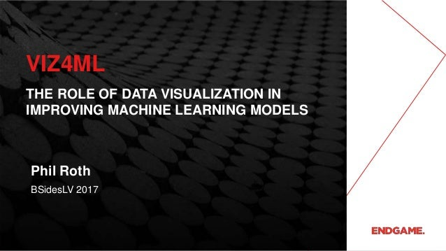 VIZ4ML THE ROLE OF DATA VISUALIZATION IN IMPROVING MACHINE LEARNING MODELS BSidesLV 2017 Phil Roth