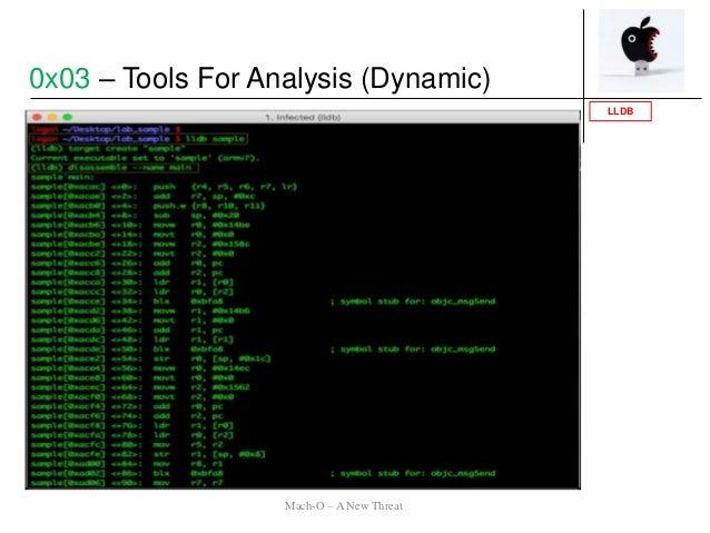 LLDB 0x03 – Tools For Analysis (Dynamic) Mach-O – A New Threat