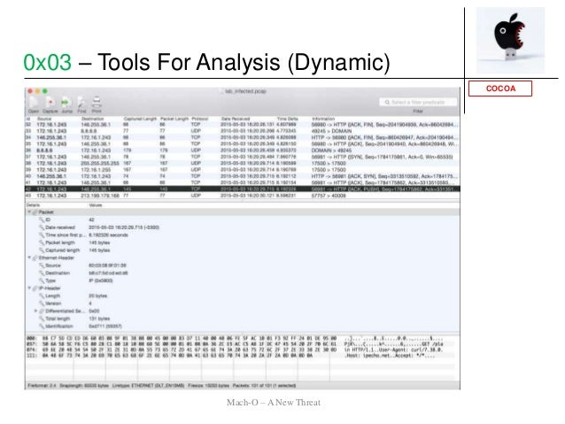 COCOA 0x03 – Tools For Analysis (Dynamic) Mach-O – A New Threat